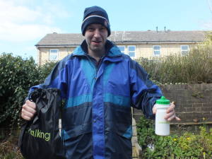 Neil and goody bag